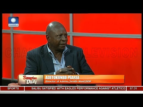 Buhari's Power Sector Allegation An Attempt To Cover-Up Failings - Pearse Pt 2 |Sunrise Daily|
