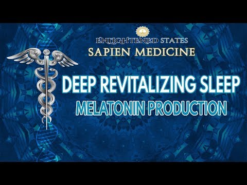 FAST WORKING DEEP SLEEP MUSIC FREQUENCY: Melatonin Production - Help Insomnia
