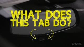 What's That? - Rear View Mirror Tab