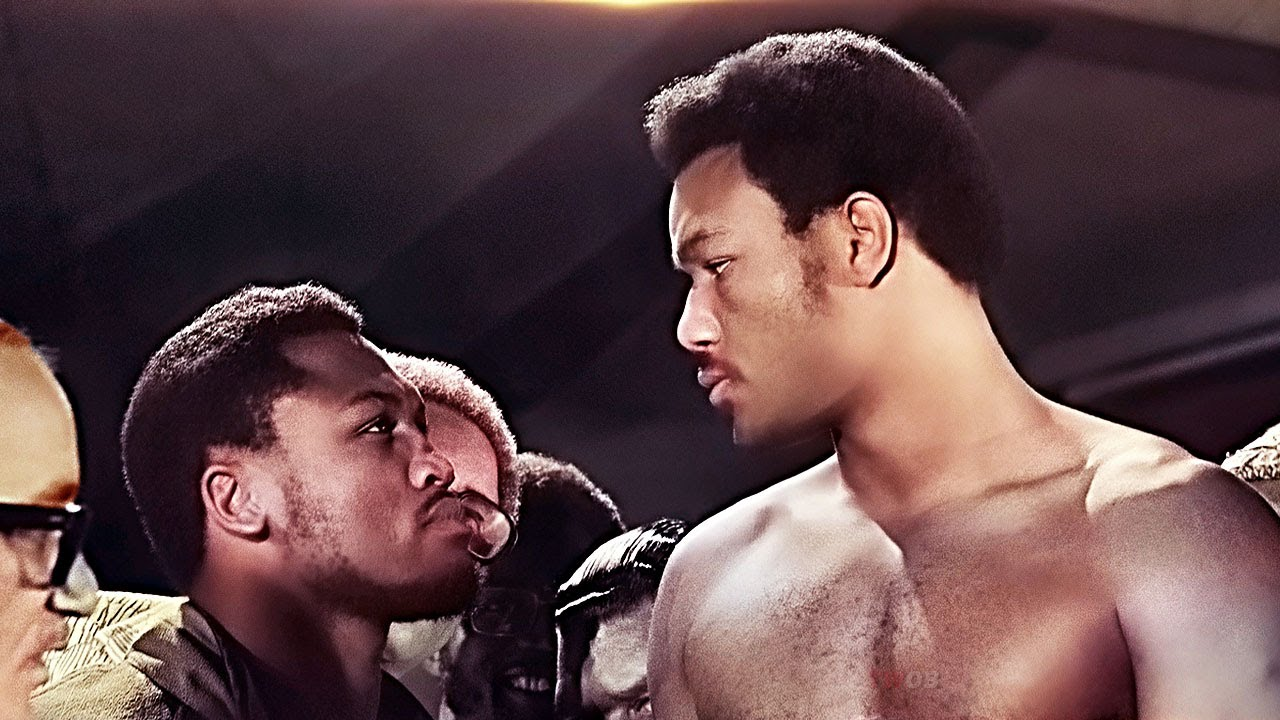 George Foreman vs Joe Frazier - 8 Falls in 7 Rounds