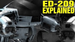 ROBOCOP: ED-209 EXPLAINED - WHAT IS THE ED209 ROBOT?