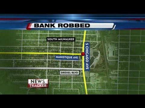 South Milwaukee bank robbed Saturday afternoon