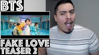 BTS (방탄소년단) FAKE LOVE MV TEASER 2 Reaction