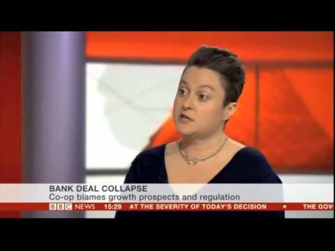 Move Your Money UK chats to BBC News about the Co-op/Lloyds deal collapse