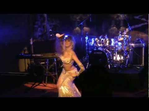 Escape from Cairo - Ines Karu belly dance show in Monaco