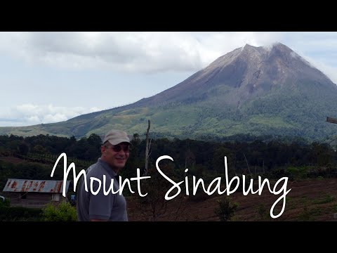 Mount Sinabung - The majestic volcano in Sumatra