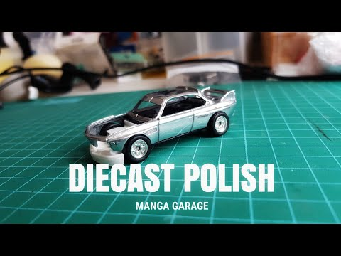 Diecast Polishing by Manga Garage (diecast custom)