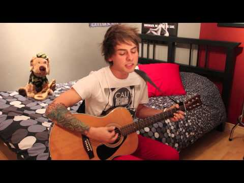 Passenger - Let Her Go (Acoustic Cover) by Janick Thibault w/Lyrics