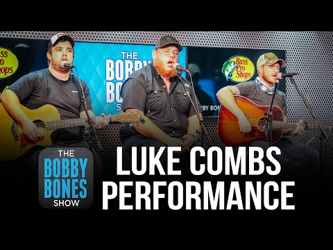 """Luke Combs Performs """"Better Together,"""" """"Cold As You,"""" & """"Lovin On You"""""""