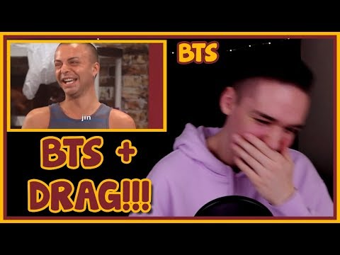 BTS AS DRAG QUEENS REACTION [THIS IS MY FAVOURITE]
