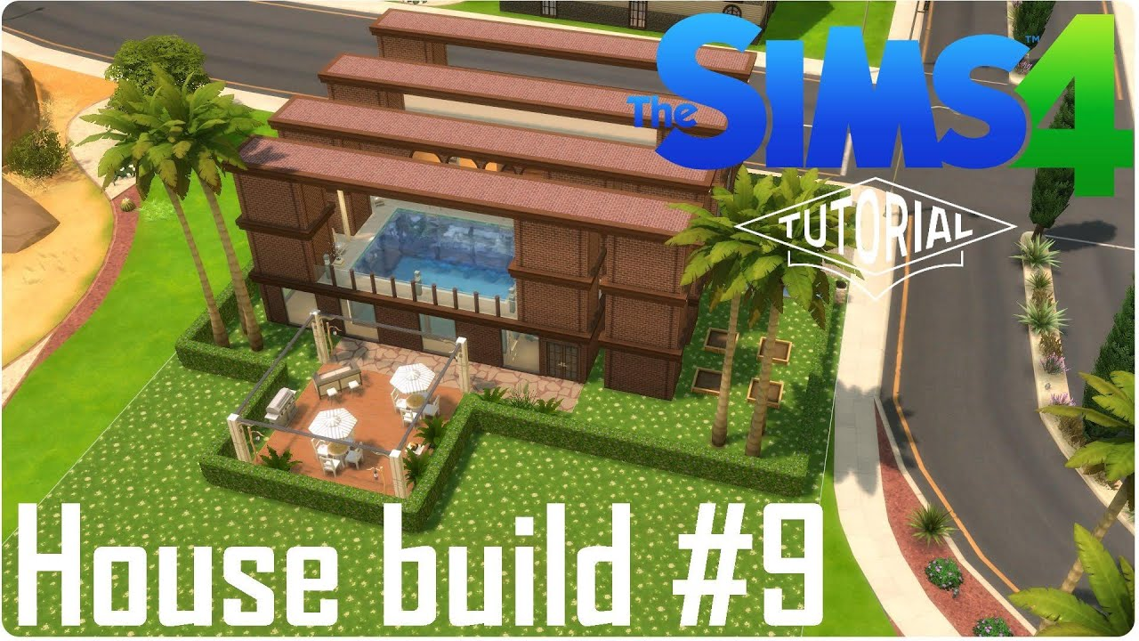 The Sims 4 Luxury House TUTORIALHD EP9 YouTube