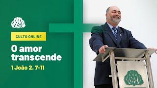 IPB Joinville - Culto - 27/09/2020 - O Amor transcende