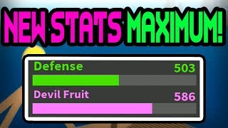 STATISTIQUES MAX 'NEW' One Piece Bizarre Adventures - France Roblox