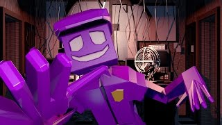 Minecraft | MURDER MAZE - Purple Guy Kills Innocent Babies! (PURPLE GUY ATTACKS)