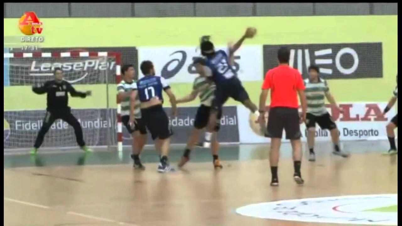 Andebol :: 08J :: Sporting - 26 x Porto - 22 de 2012/2013 - 2Fase