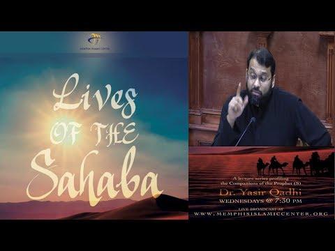 Lives of Sahaba 68 - Hassan Ibn Thabbit - Sh. Dr. Yasir Qadhi