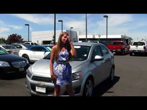 Virtual Walk Around Tour Of A 2012 Chevy Sonic At Gilchrist Chevrolet In Tacoma