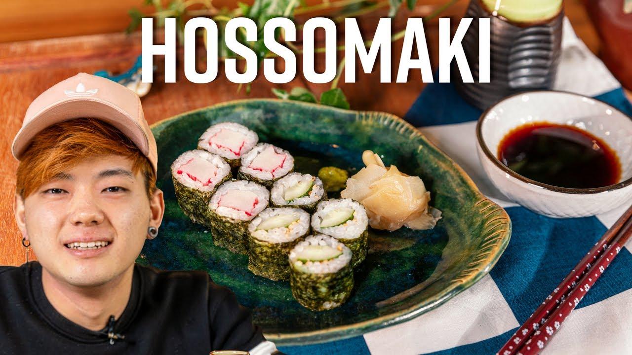 HOSSOMAKI, UM DOS SUSHIS MAIS BÁSICOS! | GOHANCOOK