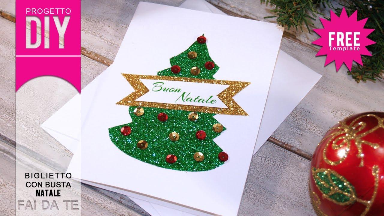 Estremamente NATALE FAI DA TE] Tutorial Biglietto di auguri di Natale  VL56