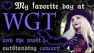 Gambar cover The LATEST and MOST STUNNING WGT Vlog ☥🖤 Which was my absolute favorite concert of 2019 ? 🥀☥