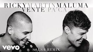 Ricky Martin - Vente Pa' Ca ft. Maluma (Versión Salsa)[Cover Audio]
