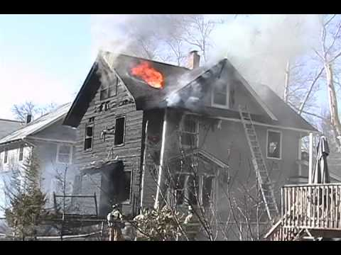 Rutherford, NJ 3rd Alarm Fire 4/2/2006 Throwback 259 Washington Ave