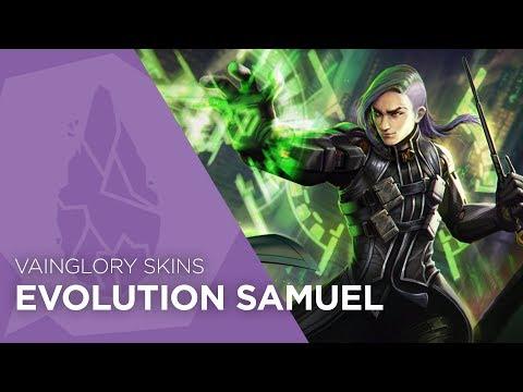 Vainglory Skins - Evolution Samuel (Update 2.6)
