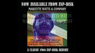 ESP-1044 -- MARZETTE WATTS - MARZETTE & COMPANY - PROMO MUSIC VIDEO