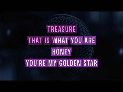 Treasure Karaoke Version by Bruno Mars (Video with Lyrics)