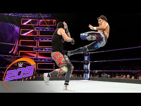 WWE 205 vs. Noam Dar vs. TJP