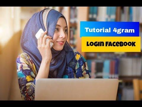 Berikut Cara Mudah Login Web 4Gram Menggunakan Akun Facebook!