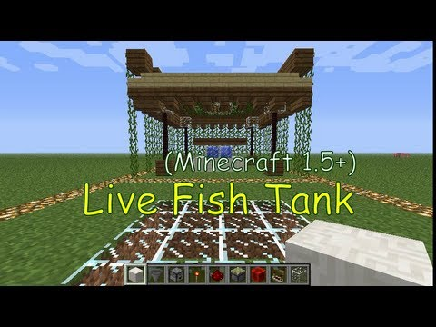[+Uma] Cool & Useless #03: Live Fish Tank [Minecraft]