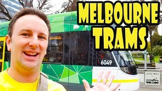 How to Ride Trams in Melbourne Australia