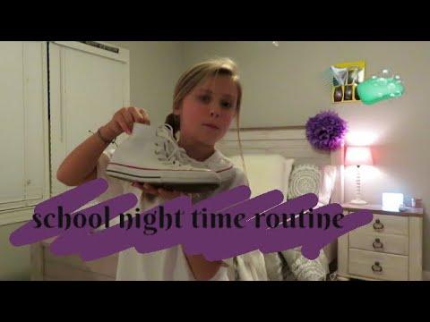 School Night Time Routine🧼| Angelina Drake