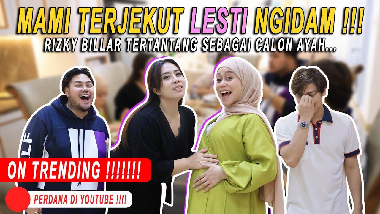 Download MAMI TERKEJUT LESTI NGIDAM !!! RIZKY BILLAR TERTANTANG SEBAGAI CALON AYAH...