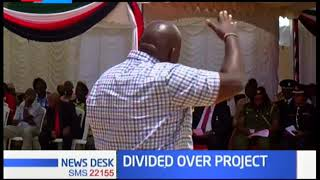 Political leaders from Kirinyaga County divided over the sh.15 Billion project in Mwea Sub county