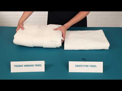 Towel 101: Choosing The Best Quality Towels | Tuesday Morning