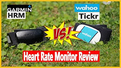 Garmin HRM vs Wahoo Tickr - Heart Rate Monitor Review
