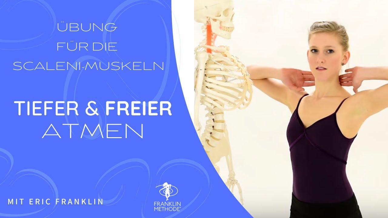 Tiefer und freier atmen mit einer Übung für die Scaleni Muskeln ...