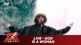 Live synger God Is a Woman - Ariana Grande (Live) X Factor 2019 TV 2