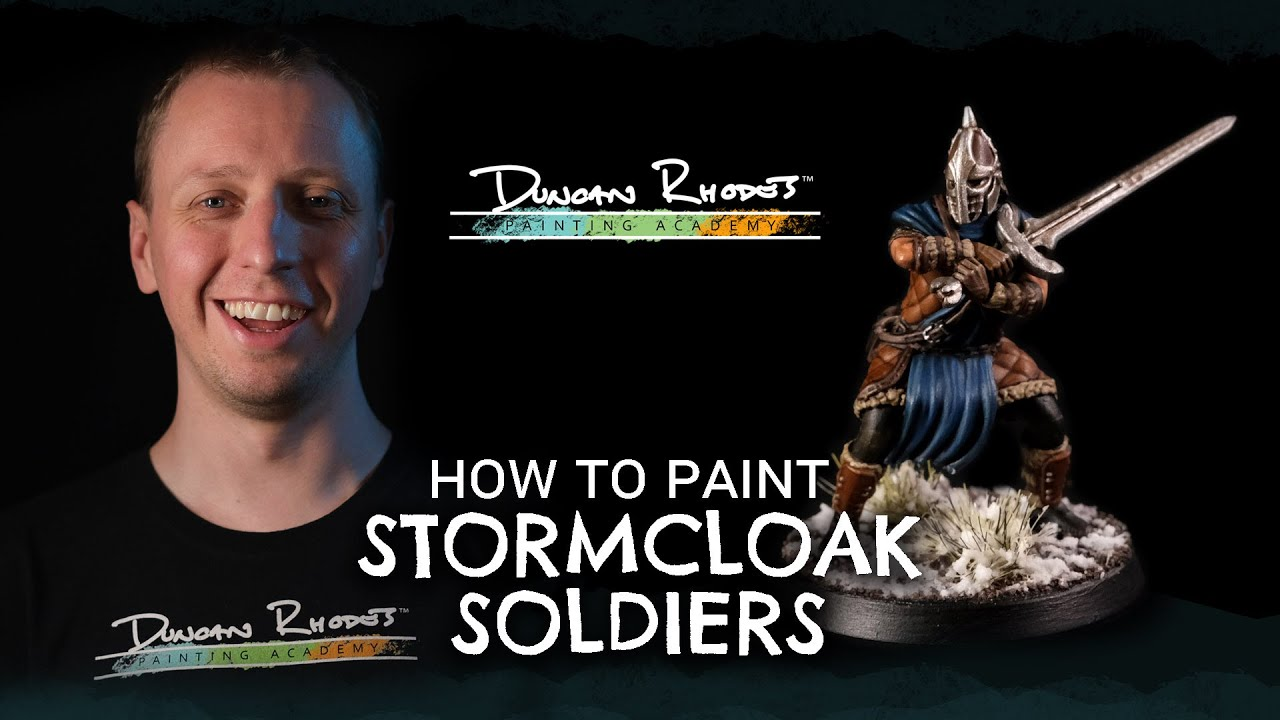 How to Paint: The Elder Scrolls-Call to Arms Stormcloak Soldier
