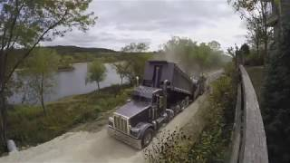 Time-Lapse Paving of Phase I of the Great Sauk State Trail