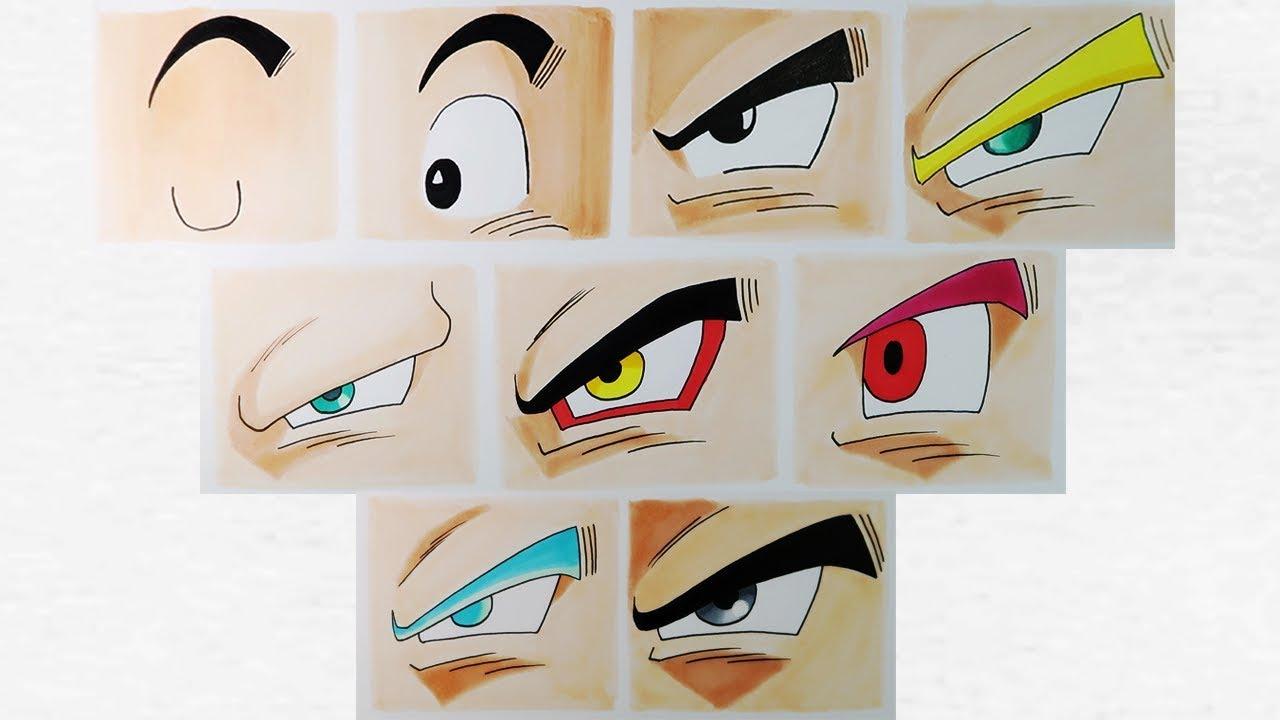 Ver Imagenes De Goku En Todas Sus Fases: Todas Las Fases De Goku Para Colorear