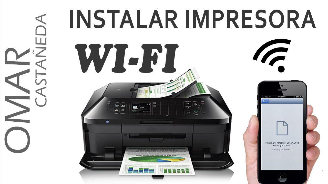 Instalar Impresora Wi Fi Pc Iphone O Ipad Youtube