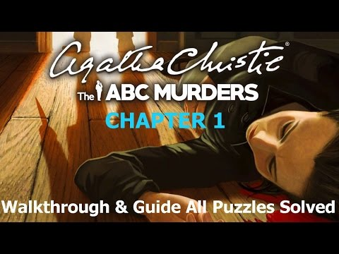 Agatha Christie The ABC Murders Chapter 1 Andover All Puzzles Solved Xbox One