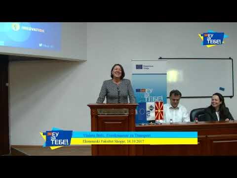 Violeta Bulc, EU Commissioner for Transport lecture @ Faculty of Economics