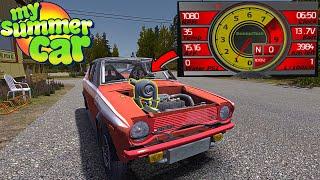 UPDATED TURBO AND ECU FOR SATSUMA - My Summer Car (Mod) #202 | Radex