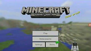Watch me play Minecraft - Pocket Edition via Omlet Arcade! hii