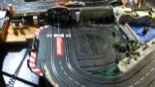 4 Slot Cars Running