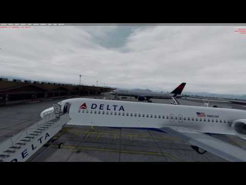 Part one of two: Tfdi 7171 from Orbx KJAC - to Pacsim KSLC